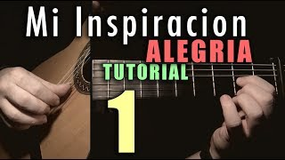 Free Stroke Exercise - 10 -Mi Inspiracion (Alegrias) INTRO by Paco de Lucia