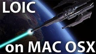 LOIC in Mac OSX