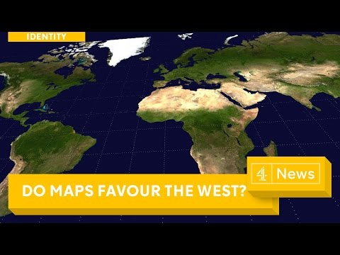 Maps are wrong? The different ways of seeing the world
