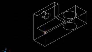 AutoCAD. Cap32-1. El sistema de coordenadas en 3D. Parte I.