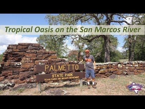 Palmetto State Park Campground Tour | RV Texas