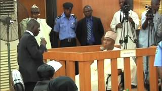 Nigeria's Senate President Bukola Saraki pleads not guilty 13 times at Code of Conduct Tribunal