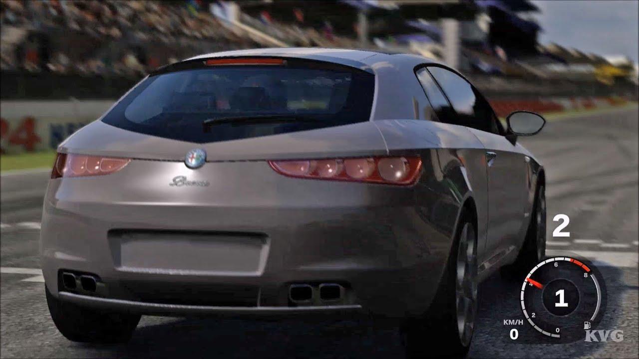 forza motorsport 3 - alfa romeo brera 2009 - test drive gameplay (hd