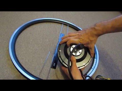Как рассчитать длину спиц для мотор-колеса, как заспицевать мотор-колесо