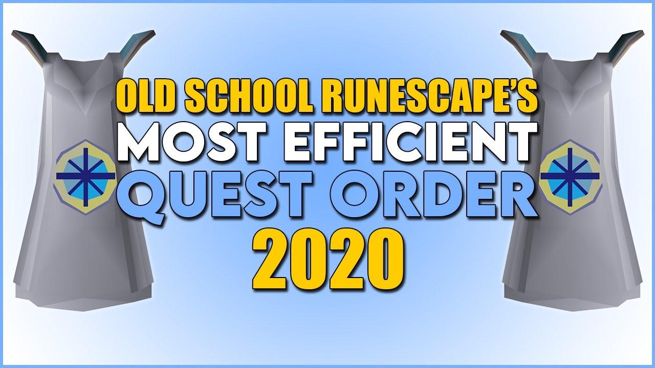 Download OSRS's Most EFFICIENT Quest Order