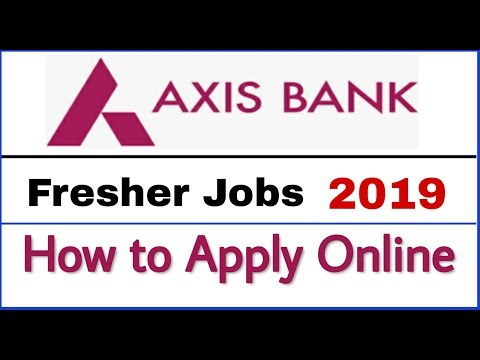 Axis Bank Recruitment 2019 II Private Bank Jobs 2019 II How to Apply Online II Learn Technical