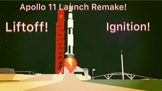 Saturn V Launch Roblox Remake