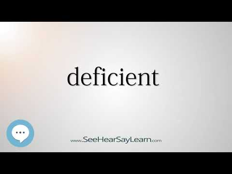 deficient    5,000 SAT Test Words and Definitions Series