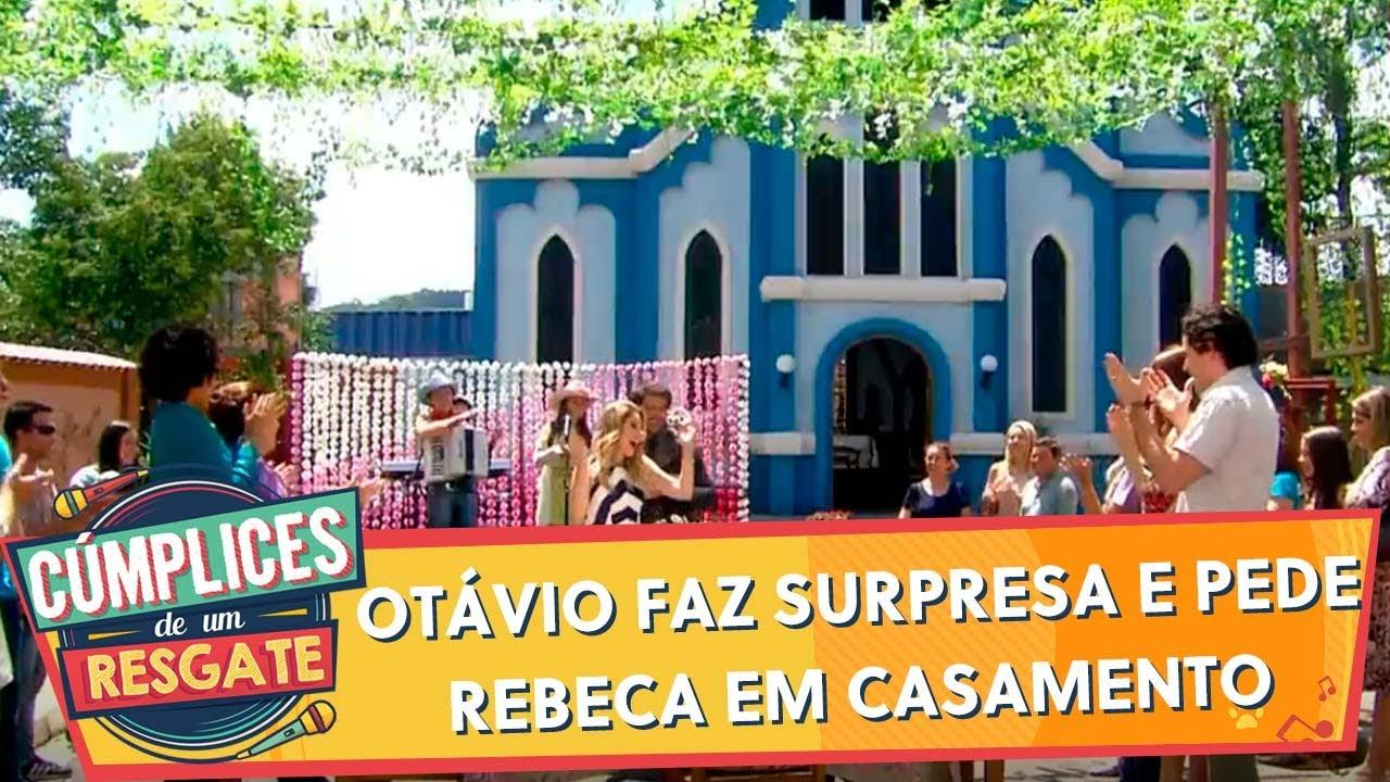Otávio faz surpresa e pede Rebeca em casamento  | Cúmplices de Um Resgate (09/12/19)