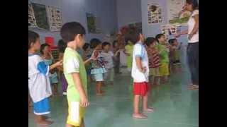 Từ thiện Trung tâm nhân đạo Quê Hương tập thể dục 4