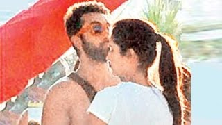 Ranbir Kapoor & Katrina Kaif CAUGHT KISSING