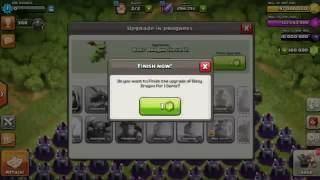 Epic attack Unlimited Baby dragon Vs. Wizard Towers | Clash Of Clans | coc Private Server