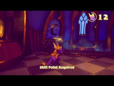 Spyro Reignited Trilogy High Caves Hidden Painting Location Youtube