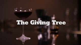 Wine and Whiskey Cocktail: The Giving Tree