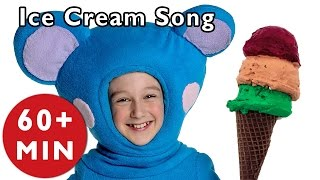 Repeat youtube video Ice Cream Song and More | Nursery Rhymes from Mother Goose Club!