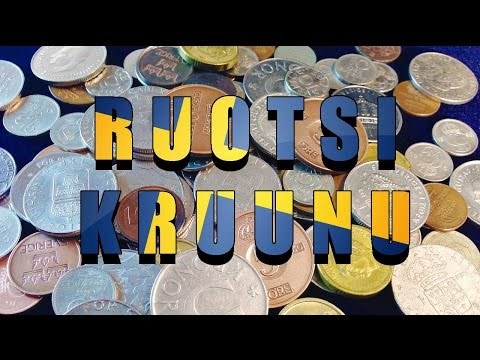 Ruotsin kruunu - Swedish krona