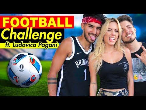 FOOTBALL CHALLENGE con LUDOVICA PAGANI ⚽️| Matt & Bise