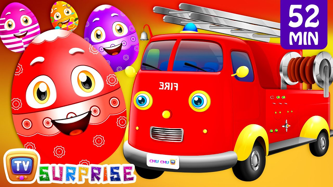 Learn Vehicles for Kids - Ambulance, Fire Engine + More ChuChu TV Learning Videos SUPER COLLECTION 6