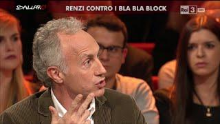 Marco Travaglio: La Situazione è Peggiore Di Quando C'era Berlusconi - Ballarò 10/11/2015