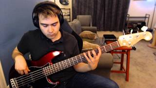 #1 Crush (Garbage) bass cover