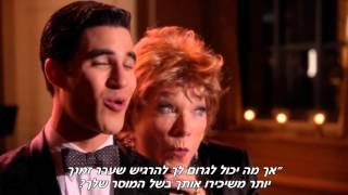 Glee - No Time at All (HEBsub מתורגם)