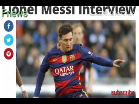 Lionel messi signs new contract with barcelona .Football news