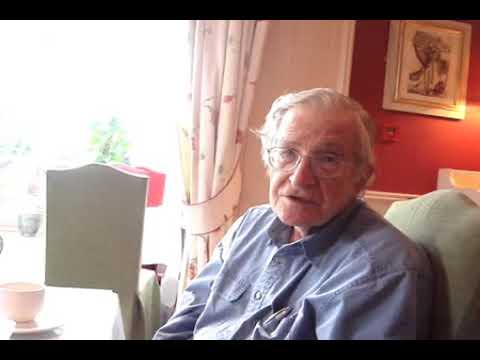 Noam Chomsky on the movement to free Gaza