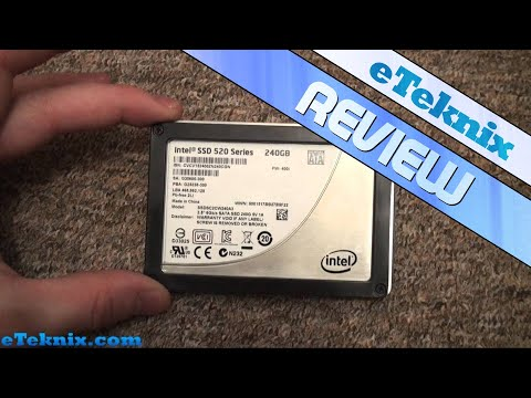 Intel 520 Series 240GB Solid State Drive Review And