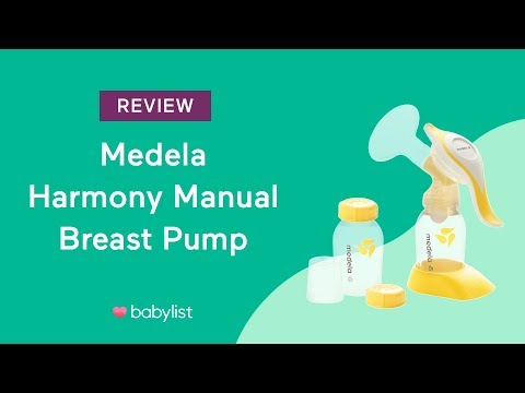 Medela Harmony Manual Breast Pump Review Babylist Youtube