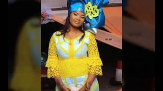 Magnifique Model De Bazin, African Fashion Bazin