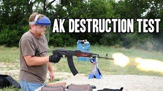 Burning AK Test (Part 1)