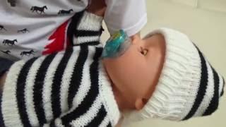 Сплять іграшки у Агати / Baby Born,Baby Baby Doll and Kate.