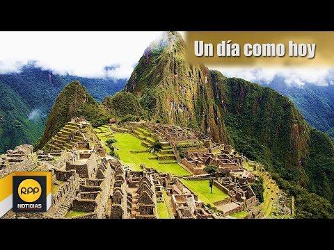 Un día como hoy 24/07│Hiram Bingham descubre Machu Picchu