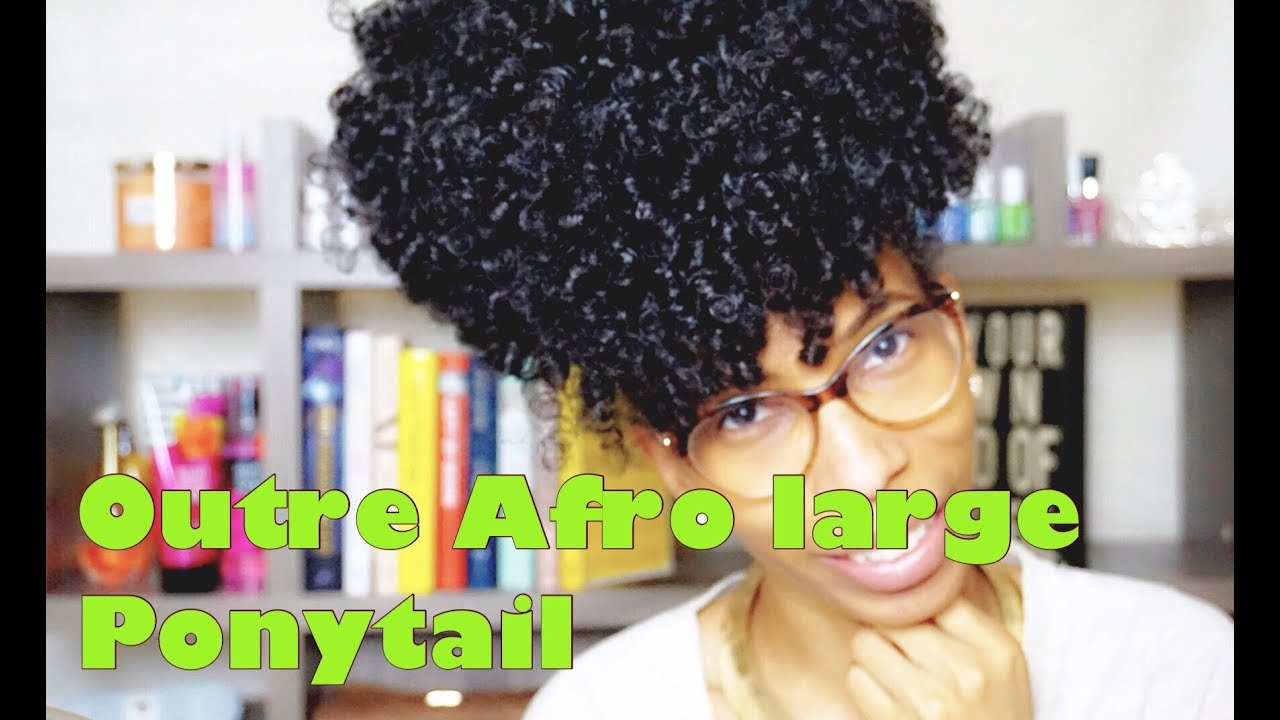 Outre Afro Large Ponytail