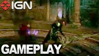 Devil May Cry HD Collection: DMC1 - Black Knight Gameplay