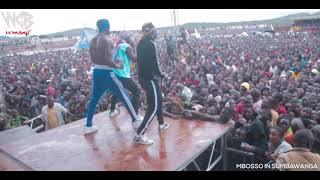 Diamond/Mbosso/Lavalava jibebe walivyo cheza na mashabiki Sumbawanga wasafi festival 2018