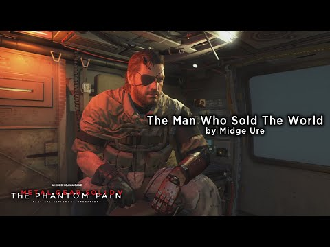 Metal Gear Solid V: The Phantom Pain - The Man Who Sold The World (Lyrics Video)