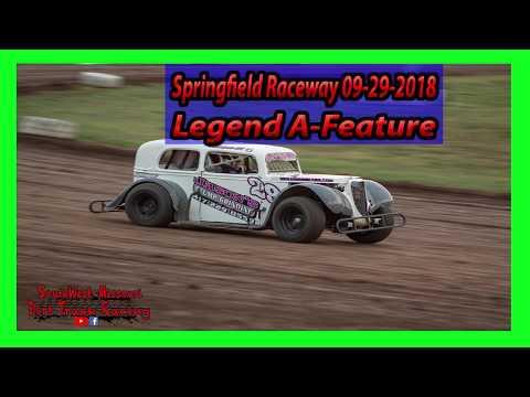 Legend A Feature - Springfield Raceway 9-29-2018