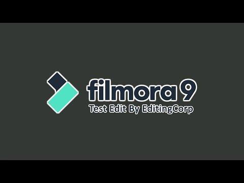 Filmora 9 Test Edit - EditingCorp