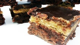 Peanut Butter Cookie Dough Brownie - How To