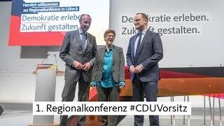 CDU.TV: Video zur 1. Regionalkonferenz Lübeck #CDUVorsitz