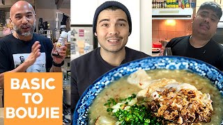 The Best Arroz Caldo Recipes Cooked by 3 Filipino Cooks (Ginger Chicken Porridge) w/ Chef JP & Ross