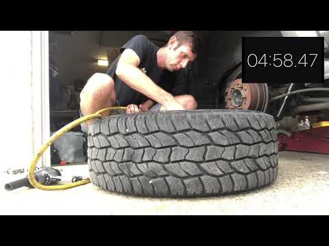 The speed of a valve stem change