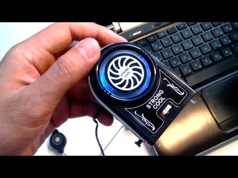видео: Внешний кулер для ноутбука