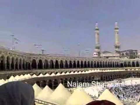 Pigeon doing Tawaf of Khana Kaba  its Miracle