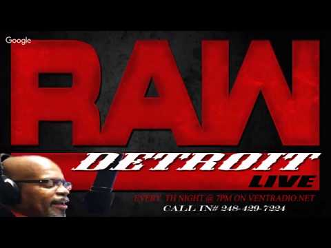 Detroit Raw Live Guest: Dr.Umar Johnson