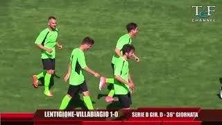 Serie D Girone D Lentigione-Vilabiagio 4-0