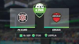 🎥 ELVI florbola līga: FK Kurši - Ķekava (19.09.2020)