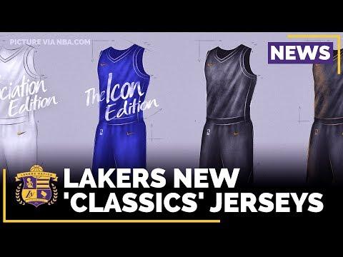 Lakers New NIKE 'Classics' Jerseys