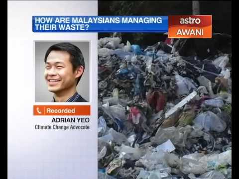 How does Malaysia manage it's waste?